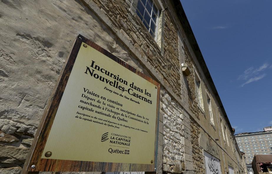 Les Nouvelles-Casernes, dans le Vieux-Québec (Le Soleil, Pascal Ratthé)