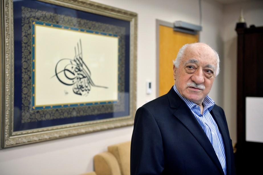 Fethullah Gulen photographié dans sa maison de Saylorsburg,... (photo Charles Mostoller, archivesREUTERS)