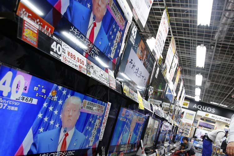 Une conférence de presse de Donald Trump est... (ARCHIVES AP)