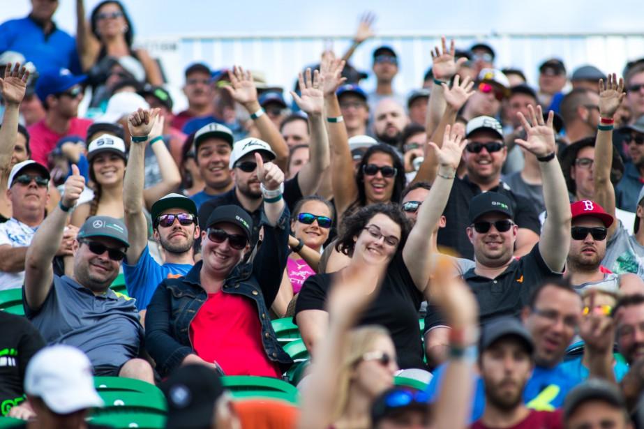 Les spectateurs présents dans les gradins du GP3R ont apprécié le spectacle donné par le rallycross. | 7 août 2016
