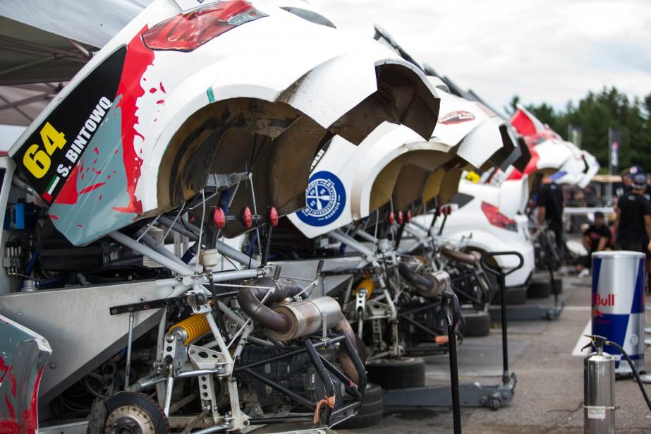 Le moteurs des voitures de rallycross RX Light. | 7 août 2016