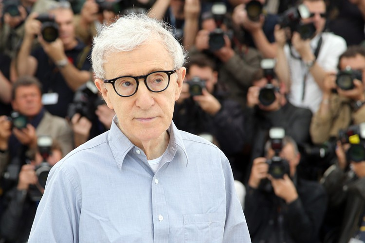 Woody Allen au Festival de Cannes en mai... (PHOTO AP)