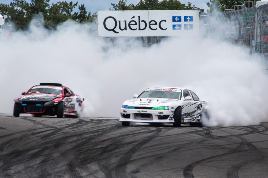 La série Formula Drift Canada. | 7 août 2016