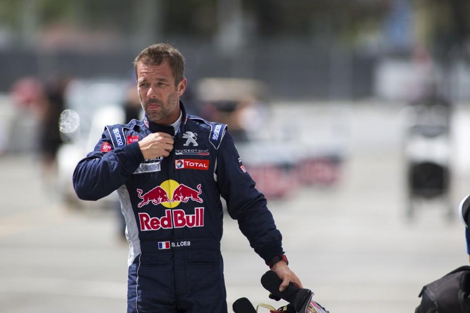 Champion mondial de rallye à neuf reprises, Sébastien Loeb n'a pas été en mesure de se qualifier pour la finale du rallycross. | 7 août 2016