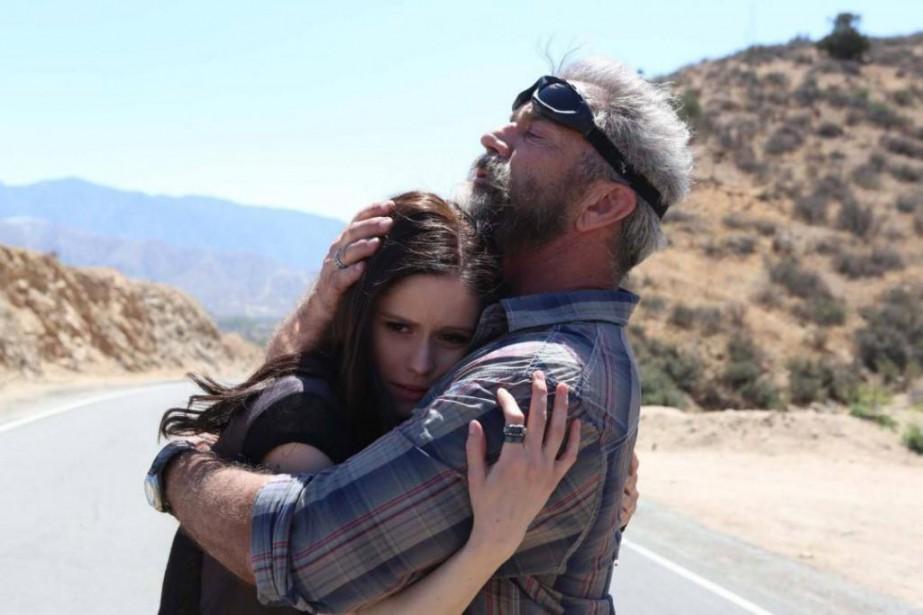 Erin Moriarty et Mel Gibson dans Blood Father... (Photofournie par Lionsgate)
