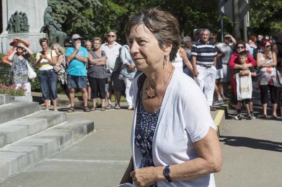 La co-porte-parole de Québec solidaire, Françoise David (La Presse Canadienne, Paul Chiasson)