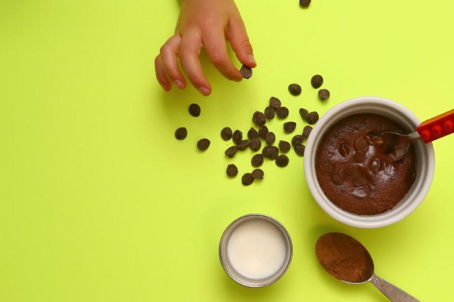 G teau au chocolat dans une tasse silvia galipeau recettes - Gateau dans une tasse ...