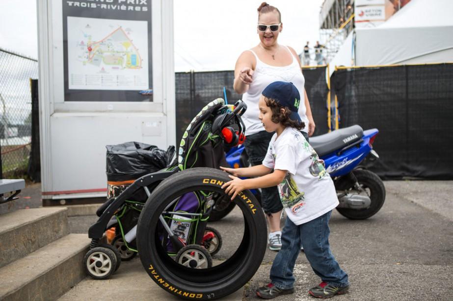 Le GP3R a attiré des amateurs de tout âge. | 14 août 2016