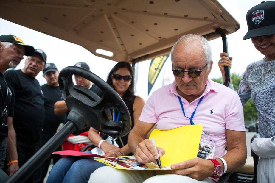 Michel Barrette était présent au GP3R. | 14 août 2016