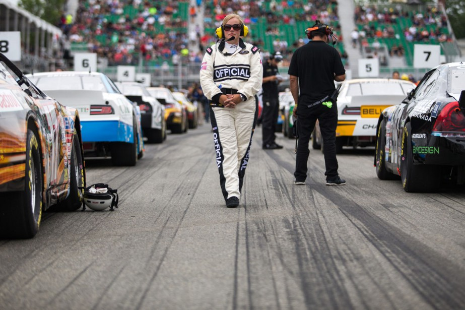 La grille de départ de la série NASCAR. | 14 août 2016