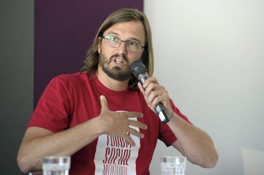 Le co-coordonnateur du Forum, Raphaël Canet, a qualifié... (PHOTO MARC BRAIBANT, ARCHIVES AFP)