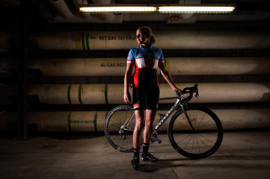 À 23ans, Amélie Kretz est l'une des triathloniennes... (PHOTO OLIVIER JEAN ET MARTIN TREMBLAY, LA PRESSE)