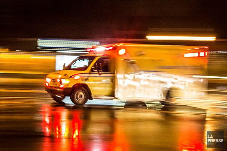 Un chauffeur de camion a été grièvement blessé en fin de... (ARCHIVES LA PRESSE)