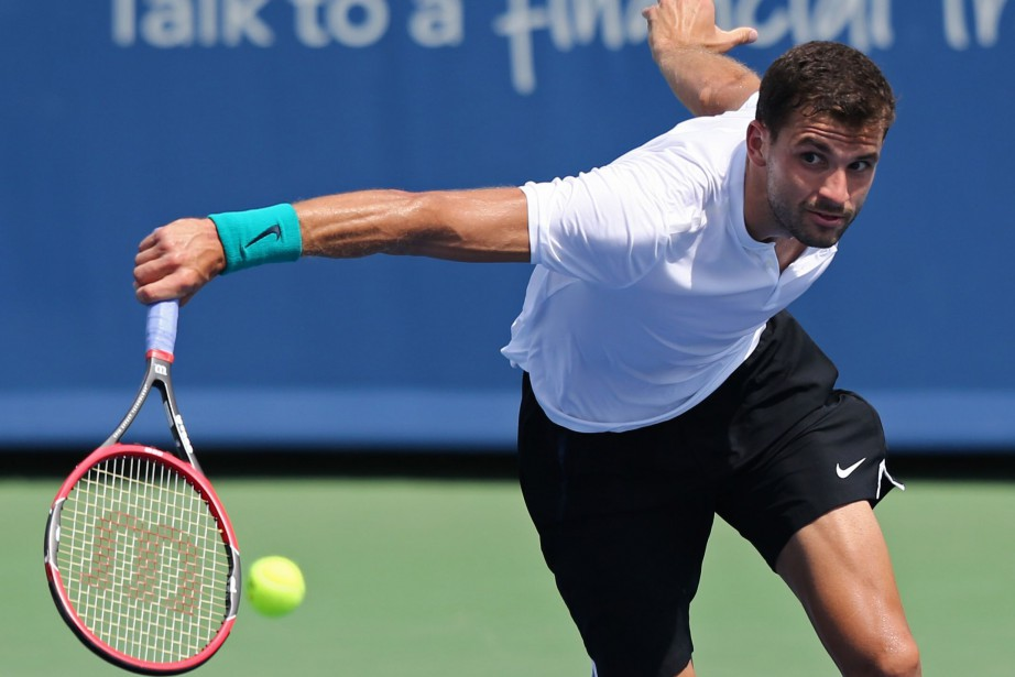 Grigor Dimitrov... (Photo Aaron Doster, USA Today Sports)