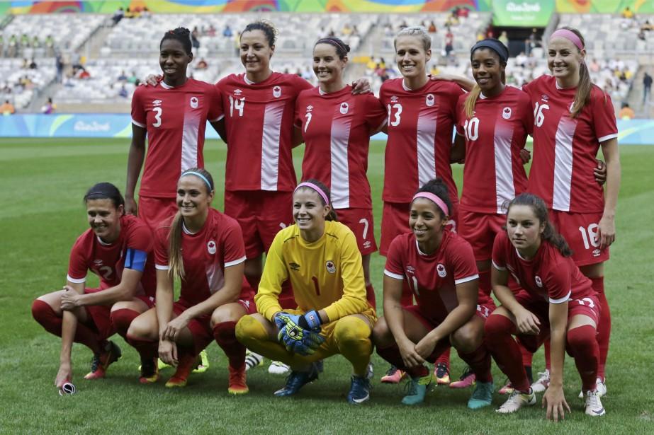 L'équipe canadienne de soccer féminin affrontera celle du... (Photo Mariana Bazo, REUTERS)