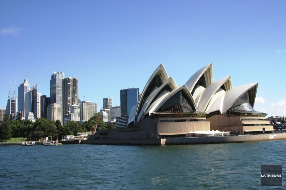 L'opéra de Sydney, en Australie.... (Photo Jonathan Custeau, archives La Tribune)