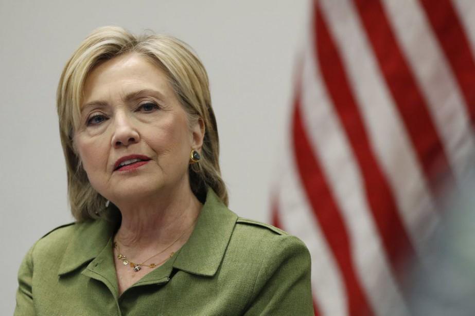 Hillary Clinton... (PHOTO CAROLYN KASTER, archives AP)