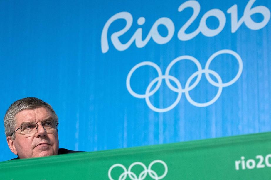 Pour le président allemand du CIO, Thomas Bach,Rio... (PHOTO LAURENT KALFALA, AFP)