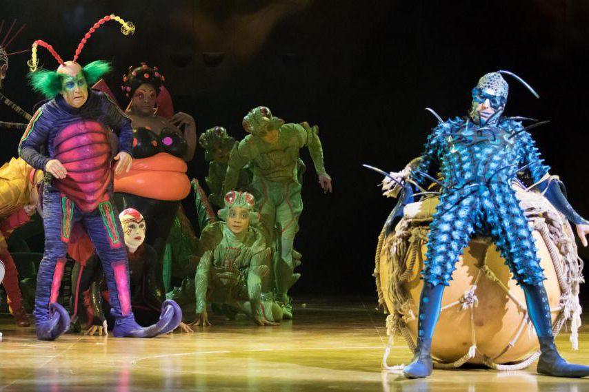 Le spectacle acrobatique Ovodu Cirque du Soleil explore... (Photo fournie par le Cirque du Soleil)