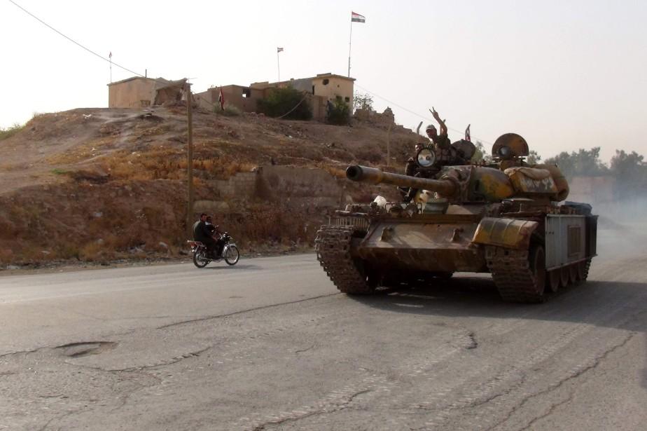 Les affrontements, déclenchés le 17 août, sont les... (PHOTO AFP)