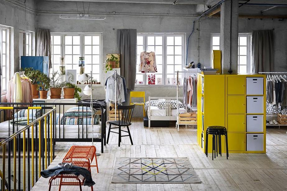 Espaces décloisonnés aux multiples fonctions, IKEA a pensé... (PHOTO FOURNIE PAR IKEA)