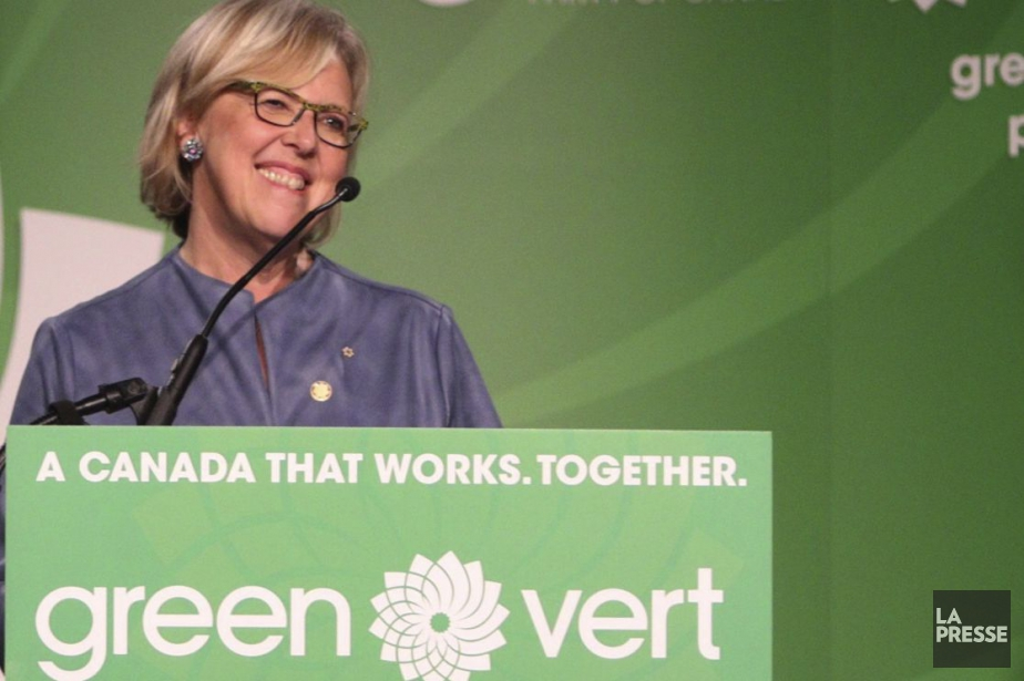Elizabeth May... (Photo archives)