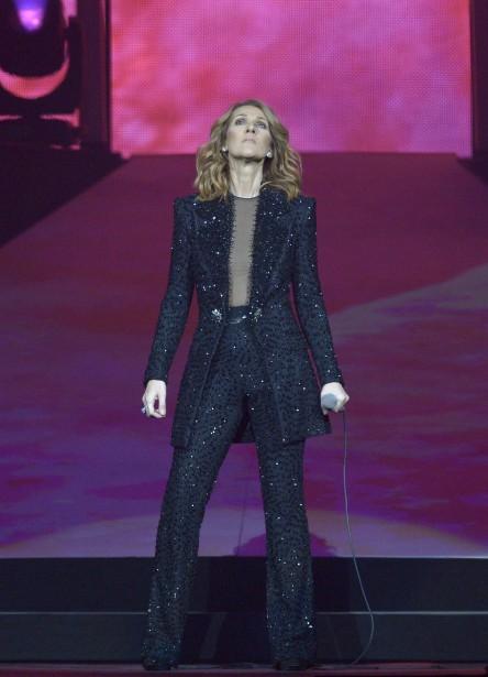 Costumede Nicolas Jebranpour le<i> </i>spectacle duCentre Vidéotron (Le Soleil,  Yan Doublet)