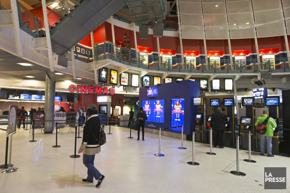 Le cinémaCineplex Forum.... (Photo Robert Skinner, archives La Presse)