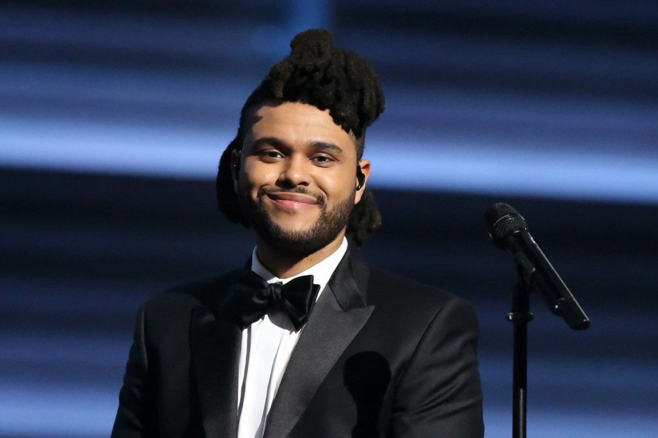 The Weeknd... (PHOTO ARCHIVES AP)