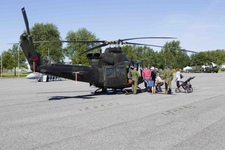Vu l'annulation d'Expo Québec, les responsables de l'armée ont décidé d'inviter les citoyens dans leur antre. (Le Soleil, Caroline Grégoire)