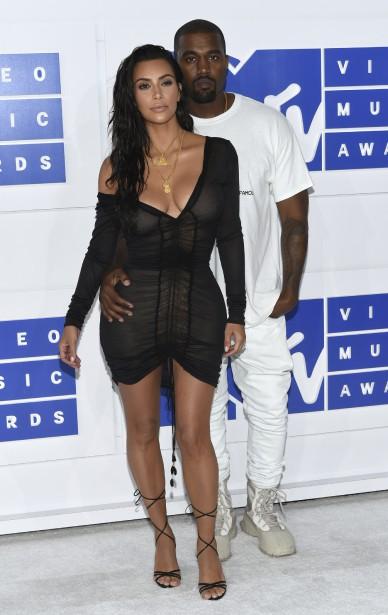 Kim Kardashian etKanye West (AP, Evan Agostini)