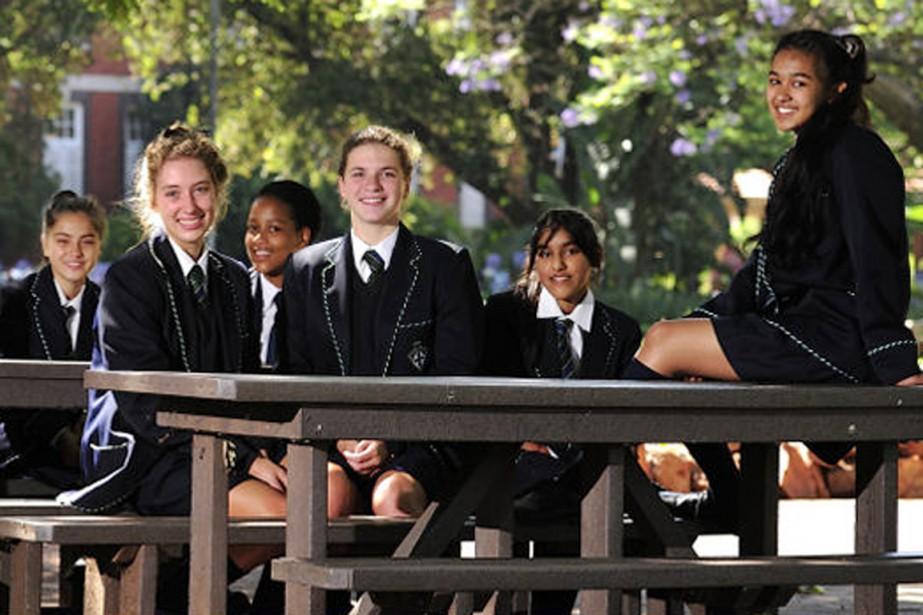 L'«École secondaire pour filles de Pretoria», un établissement... (photo phsg.org.za)