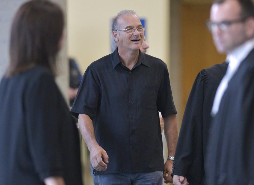 Ernest Murray,au palais de justice de Québec, le 29 août (Le Soleil, Yan Doublet)