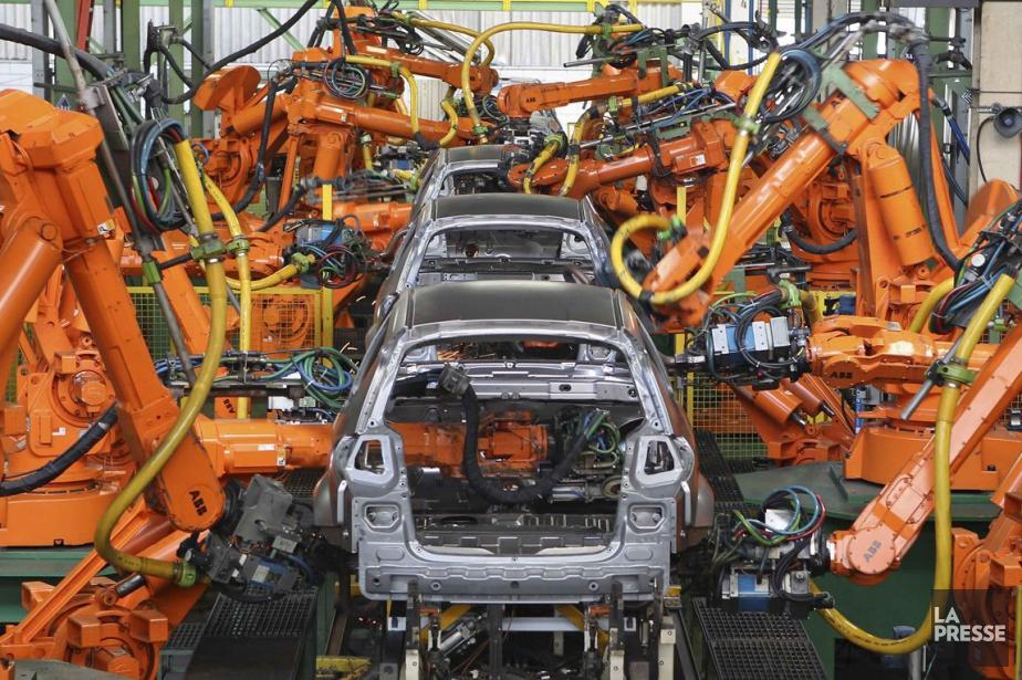 Les ventes du secteur de la fabrication ont augmenté de... (Archives La Presse)