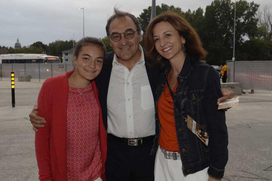 Martin Cauchon, le propriétaire du Groupe Capitales Médias, dont fait partie  Le Nouvelliste , était entouré mardi soir de sa conjointe Dorine Perron et de leur fille Catherine. | 30 août 2016