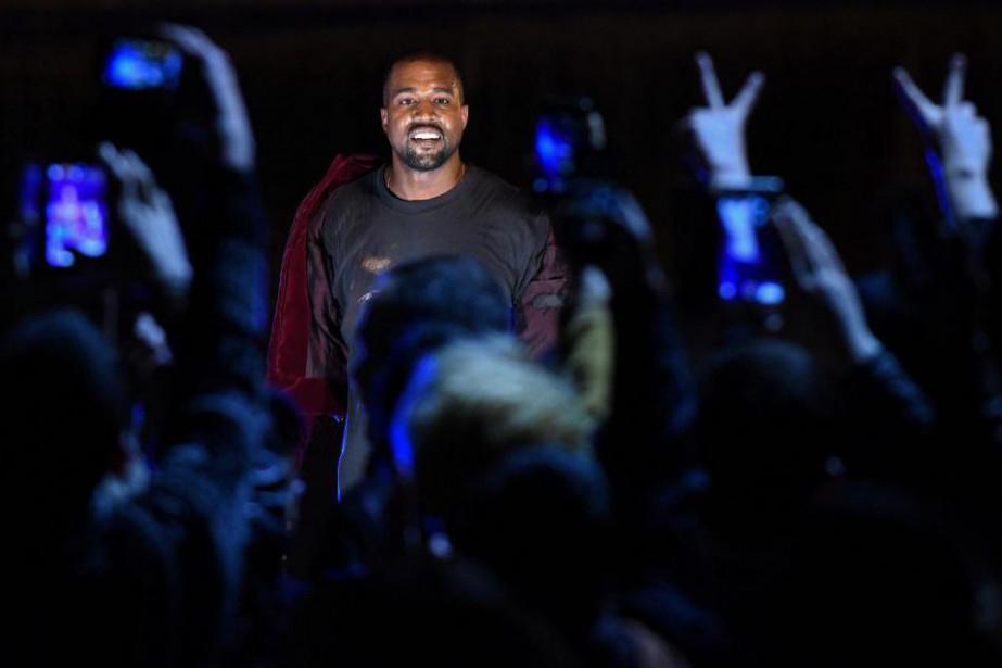 Kanye West... (PhotoKAREN MINASYAN, archives Agence France-Presse)