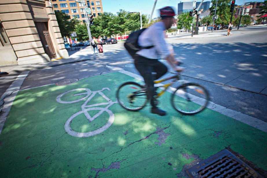 «Montréal aurait tout intérêt à s'inspirer d'Amsterdam et... (Photo Patrick Sanfaçon, Archives La Presse)