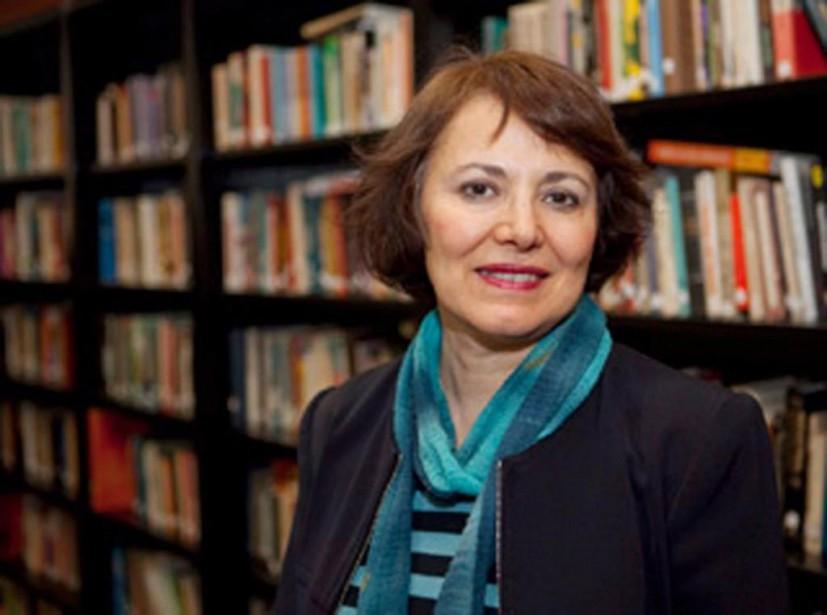 Homa Hoodfar, professeure émérite de l'Université Concordia, a... (PHOTO AMANDA GHAHREMANI, FOURNIE À LA PRESSE CANADIENNE)