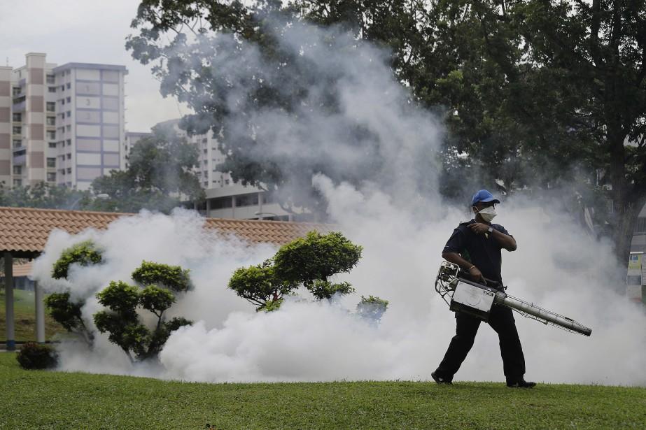 Les salariés de l'Agence nationale pour l'environnement de... (Photo Wong Maye-E, Associated Press)