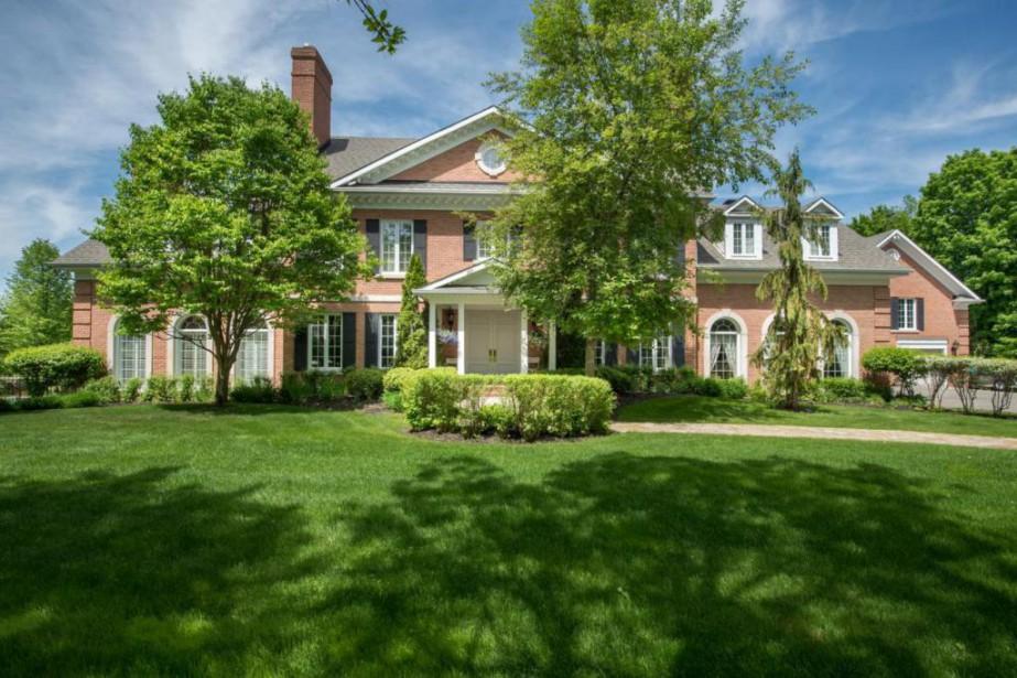 Si la maison de style fédéral semble grande,... (Photo Michael Green, fournie par Sotheby's International Realty)