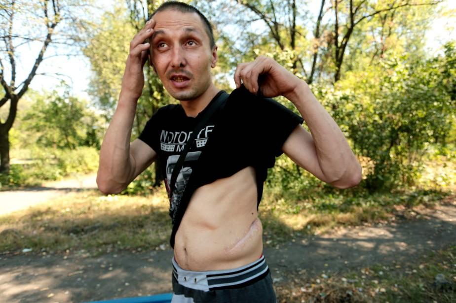 La longue détention de Mykola Vakarouk a débuté... (Photo Alexey Filippov, Agence France-Presse)