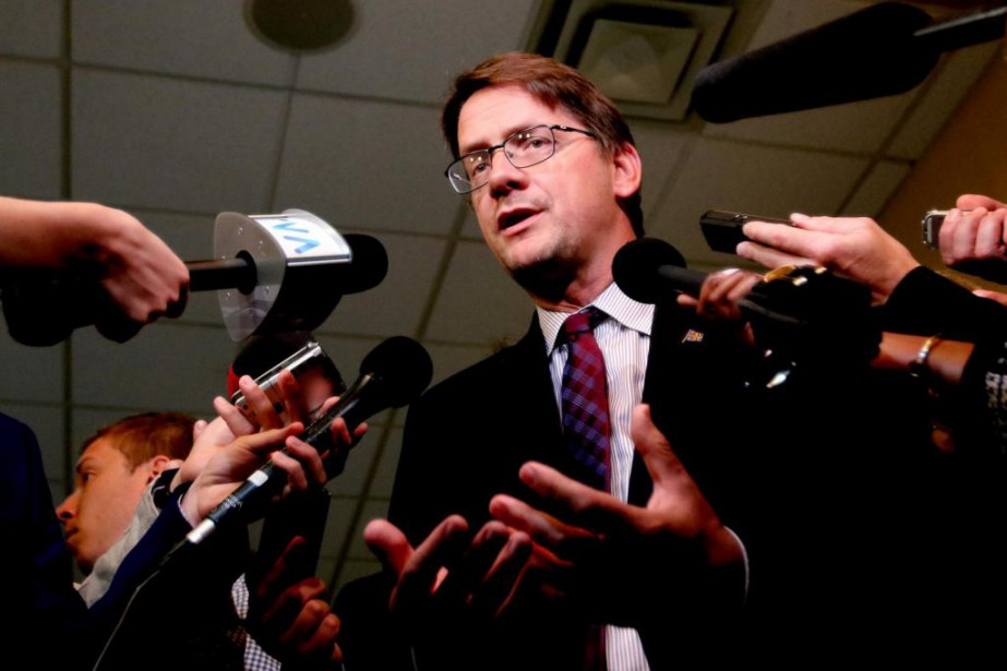 Sylvain Gaudreault,chef par intérim du Parti québécois... (Photo Patrick Woodbury, archives Le Droit)