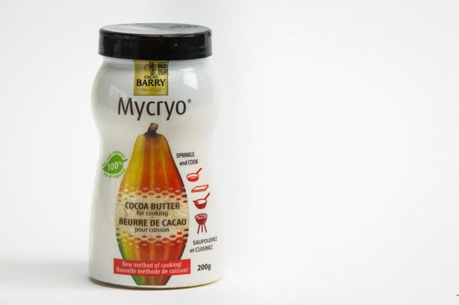 Beurre de cacao pourcuisson Mycryo,9,99$ pour 200g.... (PHOTO OLIVIER PONTBRIAND, LAPRESSE)