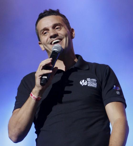 Le volubile porte-parole du FMG, Patrice Bélanger (Simon Séguin-Bertrand, LeDroit)
