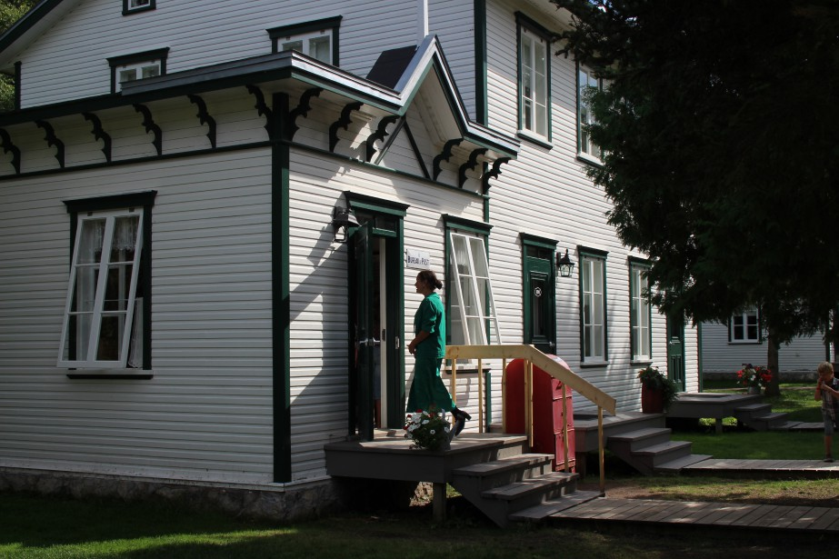 Bureau de poste de Val-Jalbert. (Mélissa Bradette)