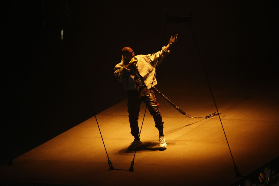 Kanye West... (Photo archives The New York Times)