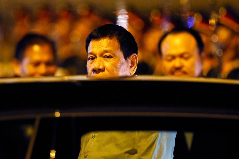 Le président philippin Rodrigo Duterte.... (Bullit Marquez, AP)