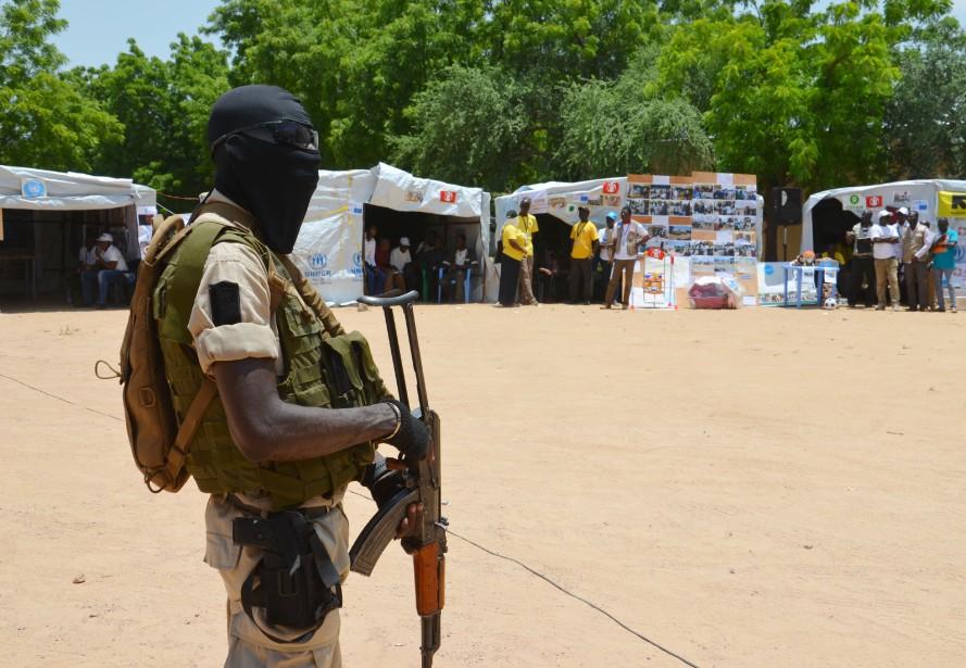 Un soldat nigérien.... (Photo AFP)