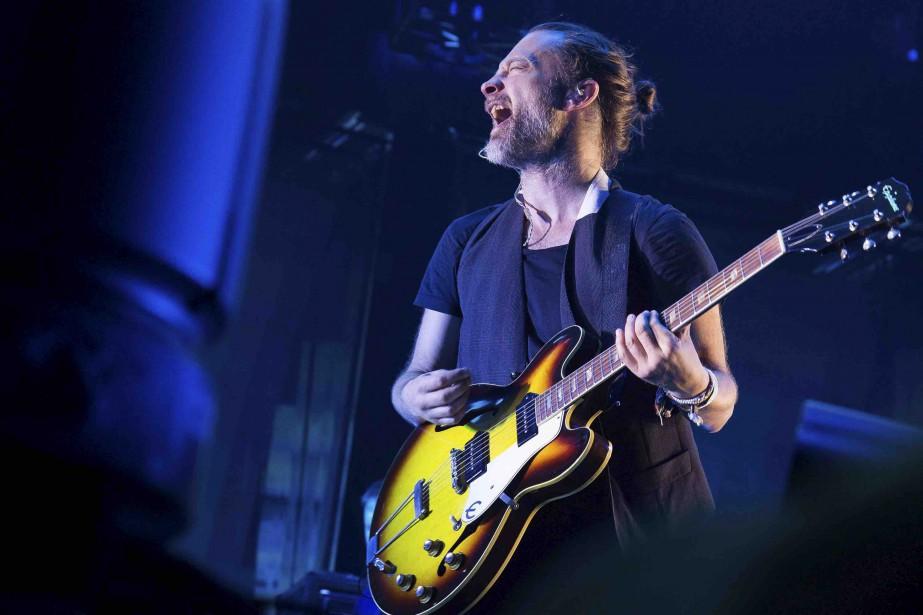Radiohead lors d'un spectacle à New York.... (PHOTO ARCHIVES AP)