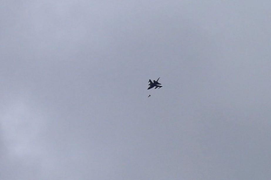 L'aviation de la coalition, conduite par l'Arabie saoudite,... (Photo Khaled Abdullah, archives REUTERS)